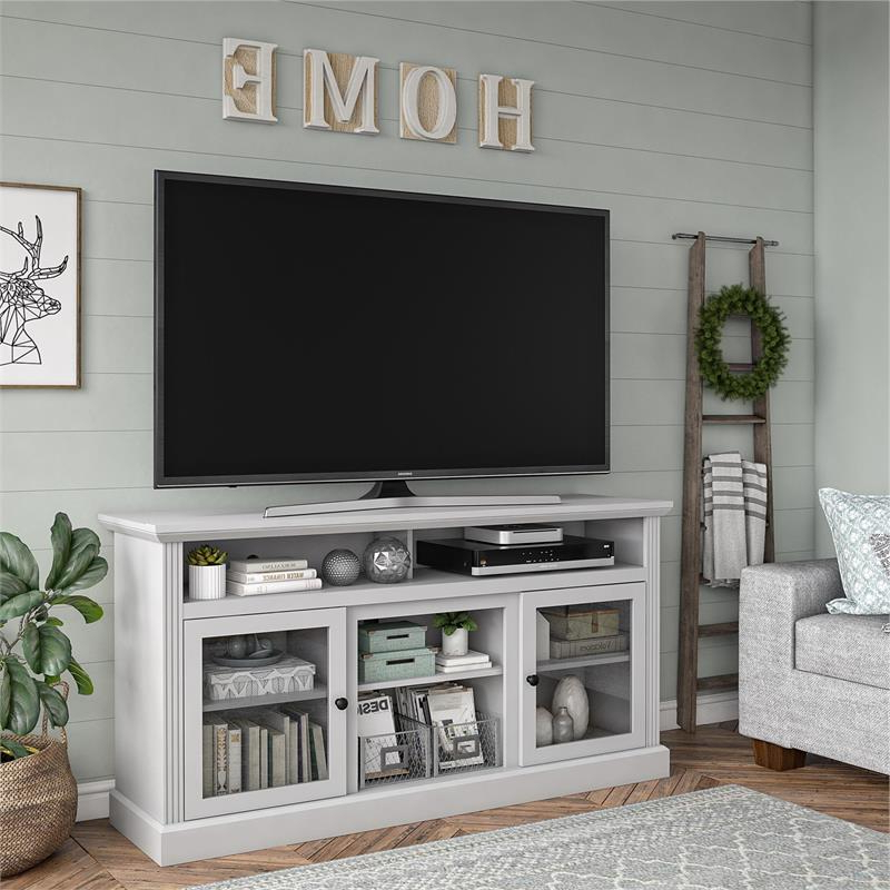 """Ameriwood Home Chicago Tv Stand For Tvs Up To 65"""" In Dove For Neilsen Tv Stands For Tvs Up To 65"""" (View 9 of 20)"""