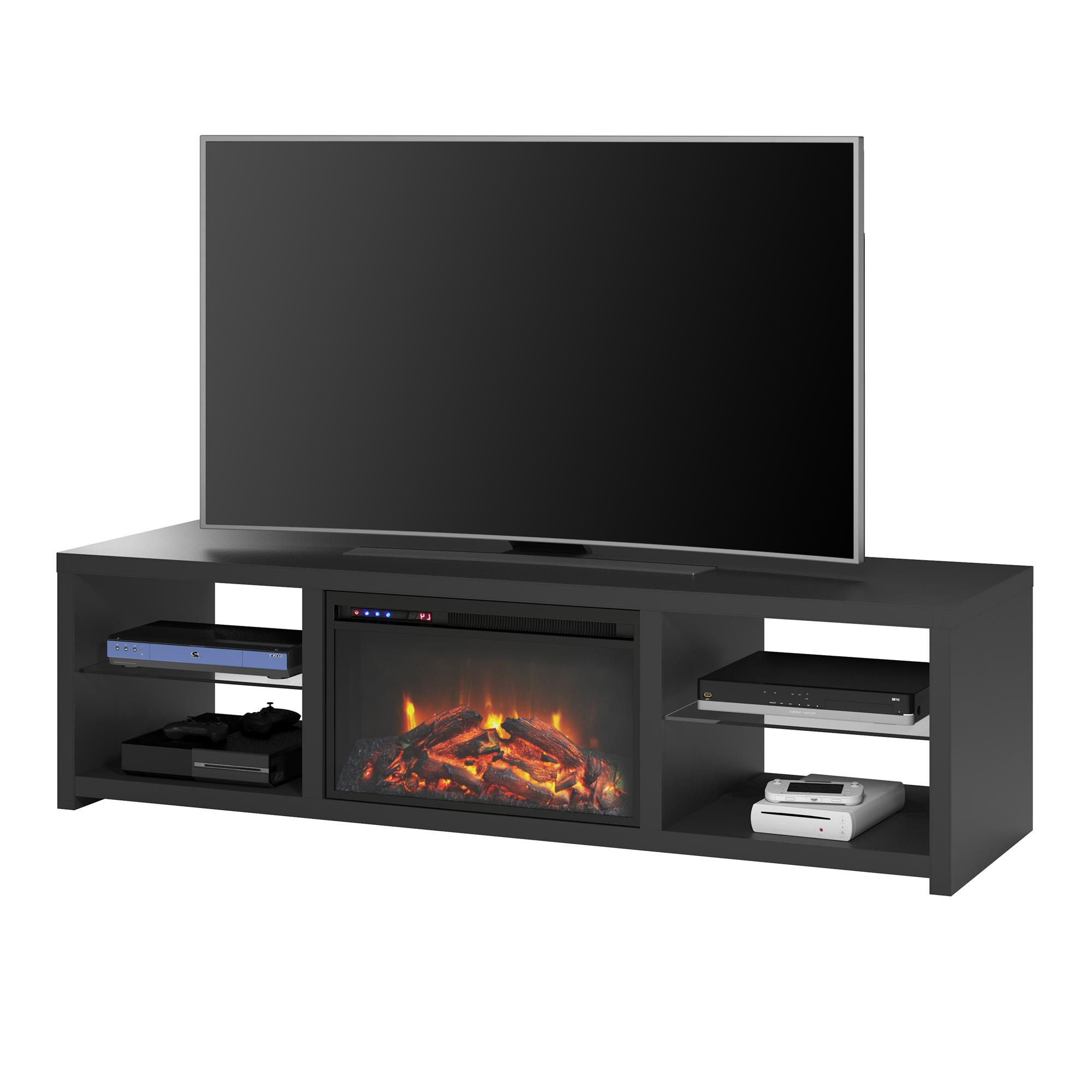 """Ameriwood Home Donovan Fireplace Tv Stand For Tvs Up To 70 Pertaining To Mainor Tv Stands For Tvs Up To 70"""" (View 17 of 20)"""