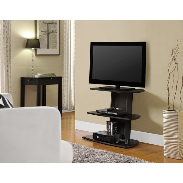 """Ameriwood Home Galaxy 32 Inch Espresso Tv Stand – Free Inside Vasari Corner Flat Panel Tv Stands For Tvs Up To 48"""" Black (View 18 of 20)"""