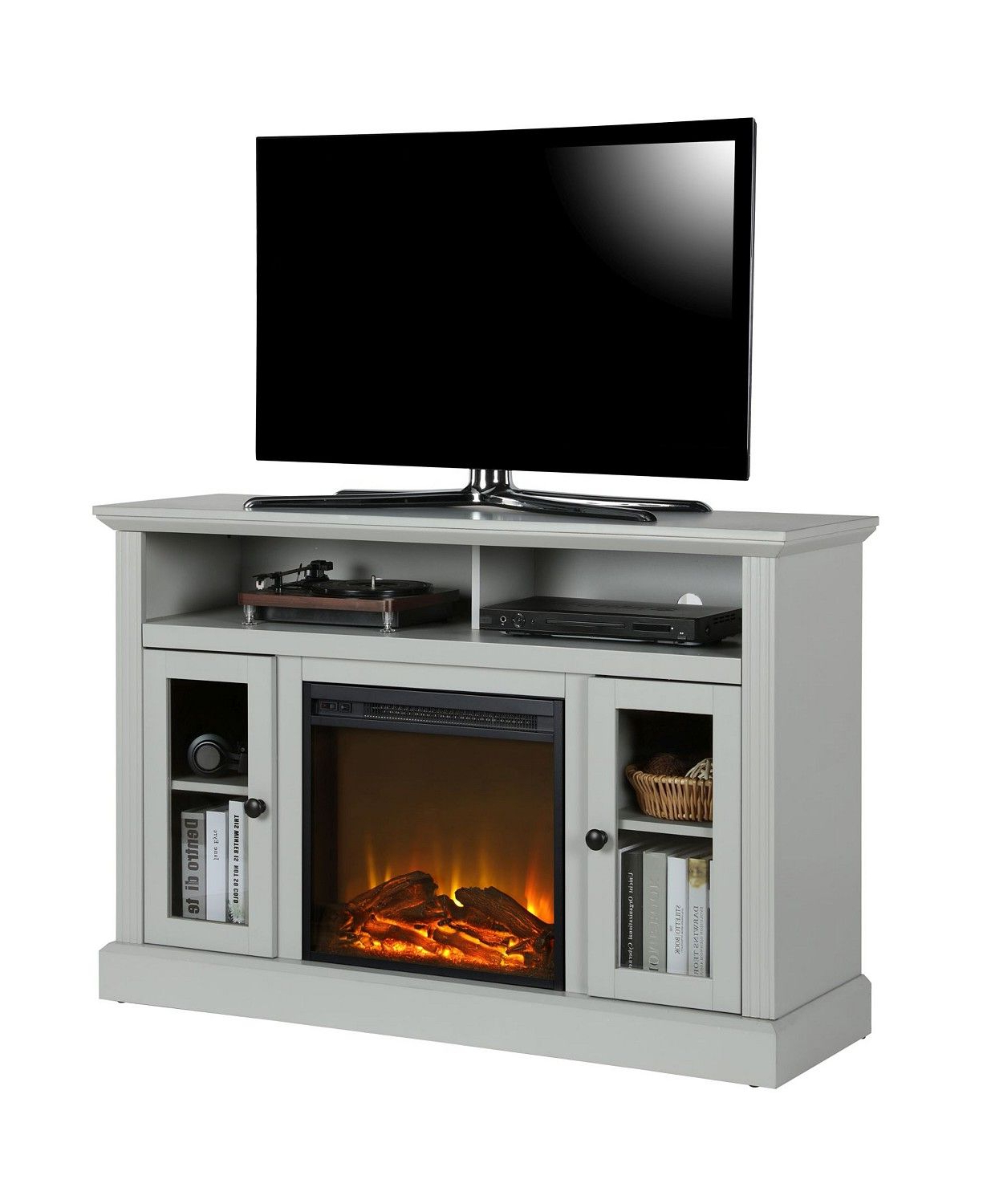"""Ameriwood Home Tacoma Electric Fireplace Tv Console For For Virginia Tv Stands For Tvs Up To 50"""" (View 18 of 20)"""