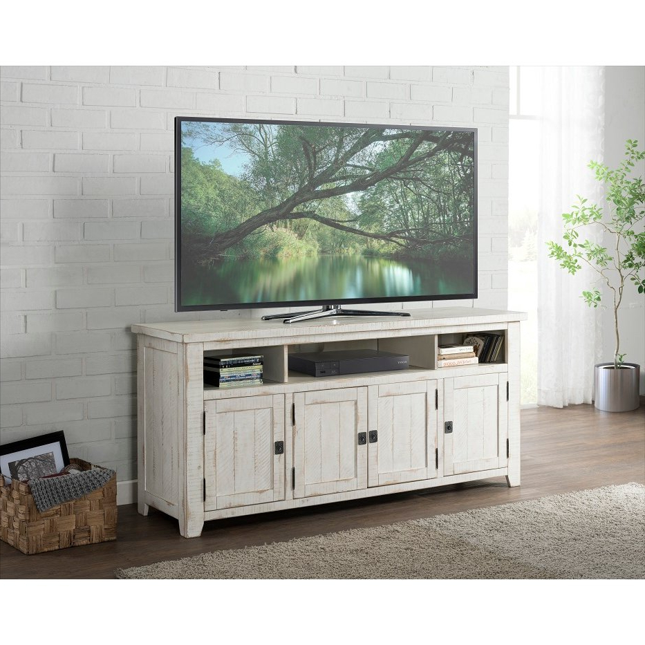 """Antique White 65 Inch Tv Stand – Nantucket 