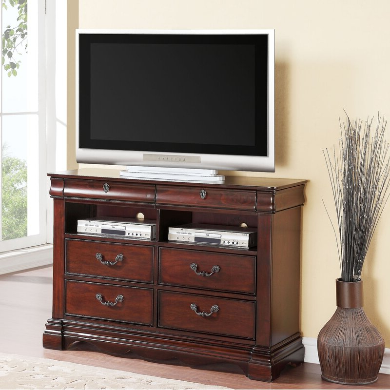 """Astoria Grand Weathersby Solid Wood Tv Stand For Tvs Up To With Regard To Twila Tv Stands For Tvs Up To 55"""" (View 18 of 20)"""