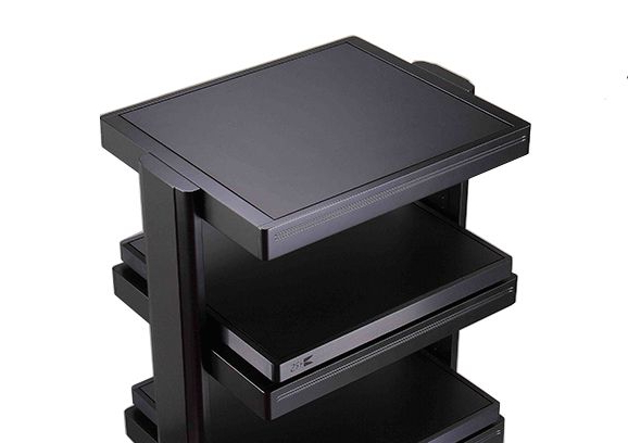 Audio Stands In 2020 | Audio Rack, Audio Stand, Step Stool Throughout Milan Glass Tv Stands (View 16 of 20)