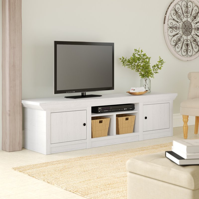 """August Grove Elston Tv Stand For Tvs Up To 85"""" & Reviews Inside Bustillos Tv Stands For Tvs Up To 85"""" (View 10 of 20)"""