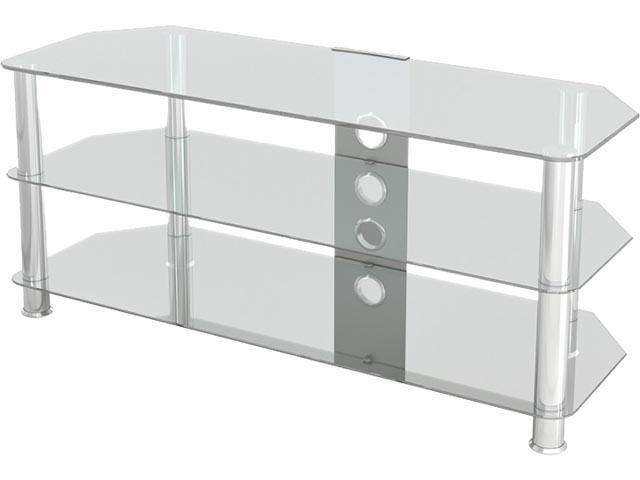 """Avf Sdc1140cmcc A Up To 55"""" Classic – Corner Glass Tv Intended For Tv Stands With Cable Management (View 12 of 20)"""
