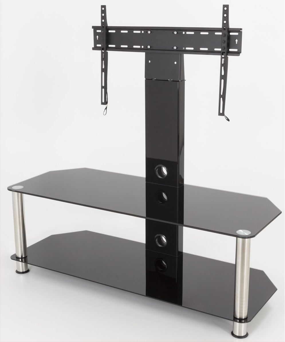 """Avf Sdcl1140 Tv Stands Within Glass Shelves Tv Stands For Tvs Up To 65"""" (View 16 of 20)"""