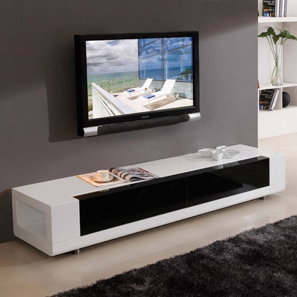 B Modern Editor Tv Console In White – Traditional For Tasi Traditional Windowpane Corner Tv Stands (View 14 of 20)