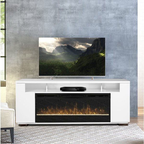 """Barnett Tv Stand For Tvs Up To 85"""" With Fireplace Included Within Bustillos Tv Stands For Tvs Up To 85"""" (View 8 of 20)"""