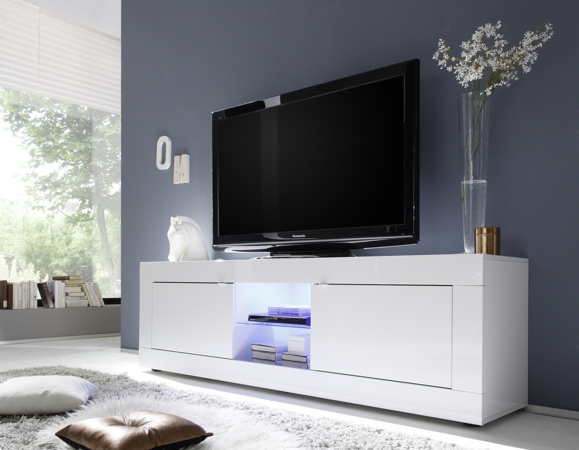 Basic Szafka Rtv Duża For Solo 200 Modern Led Tv Stands (View 7 of 20)