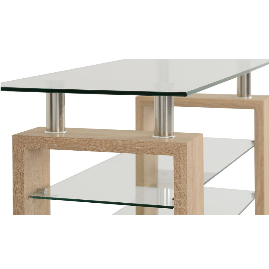 Bbs812 Milan Tv Unit – Bargain Shop With Milan Glass Tv Stands (View 8 of 20)