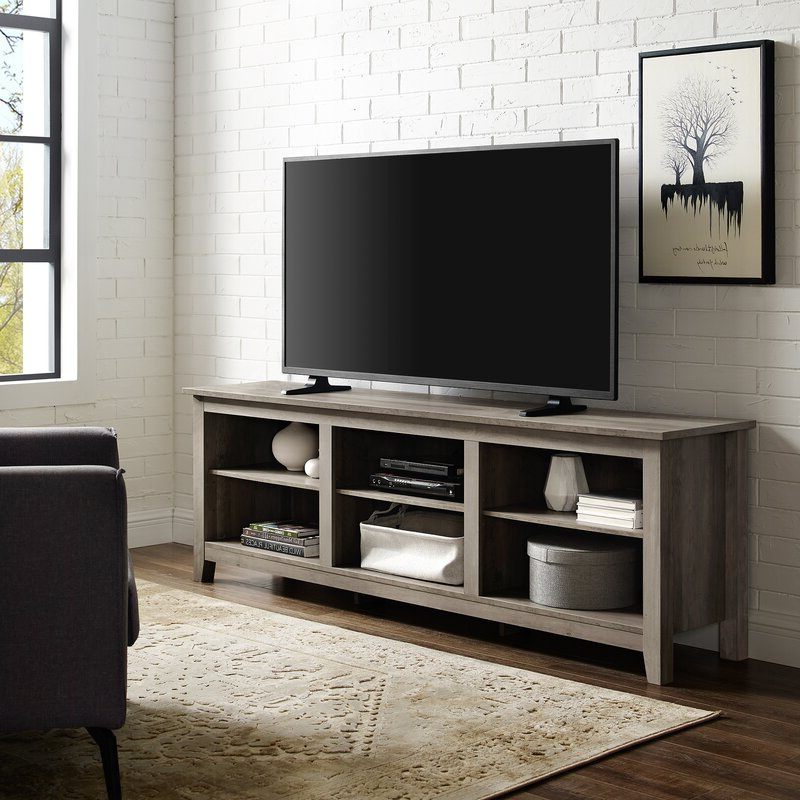 """Beachcrest Home Sunbury Tv Stand For Tvs Up To 78 Intended For Sunbury Tv Stands For Tvs Up To 65"""" (View 10 of 20)"""