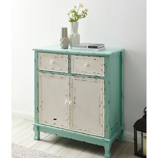 Belleze Home Small Spaces Elegant 2 Drawer 2 Door Accent Regarding Martin Svensson Home Elegant Tv Stands In Multiple Finishes (View 17 of 20)