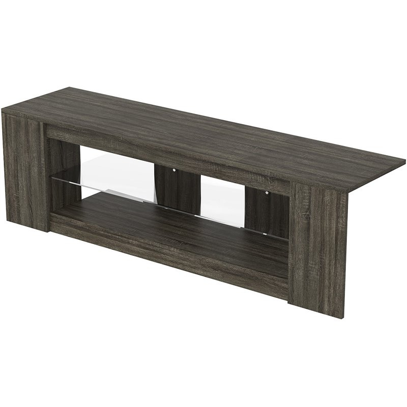 """Bello Tv Stands, Bell'o Furniture, Bello Television Stands Intended For Del Mar 50"""" Corner Tv Stands White And Gray (View 13 of 20)"""
