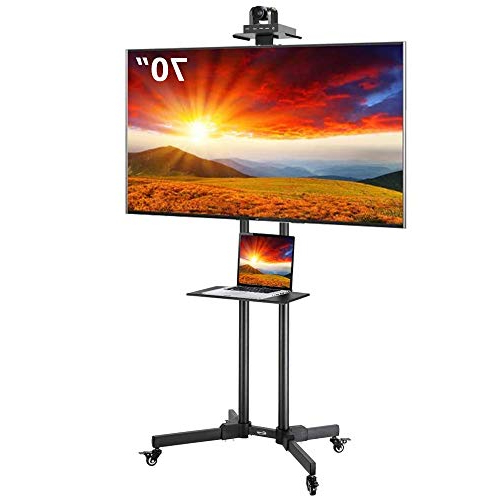 Best Rolling Tv Cart – High Quality, Cutting Edge Products Inside Rolling Tv Cart Mobile Tv Stands With Lockable Wheels (View 12 of 20)