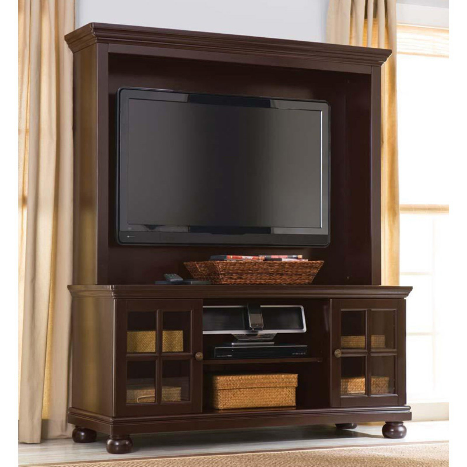 """Better Home And Gardens 50"""" Flat Screen Tv Stand With In Lansing Tv Stands For Tvs Up To 50"""" (View 6 of 20)"""
