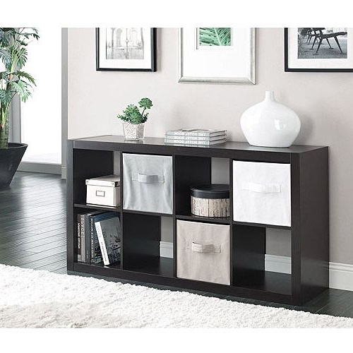 Better Homes And Gardens 8 Cube Organizer, Multiple Pertaining To Mainstays 4 Cube Tv Stands In Multiple Finishes (View 8 of 20)