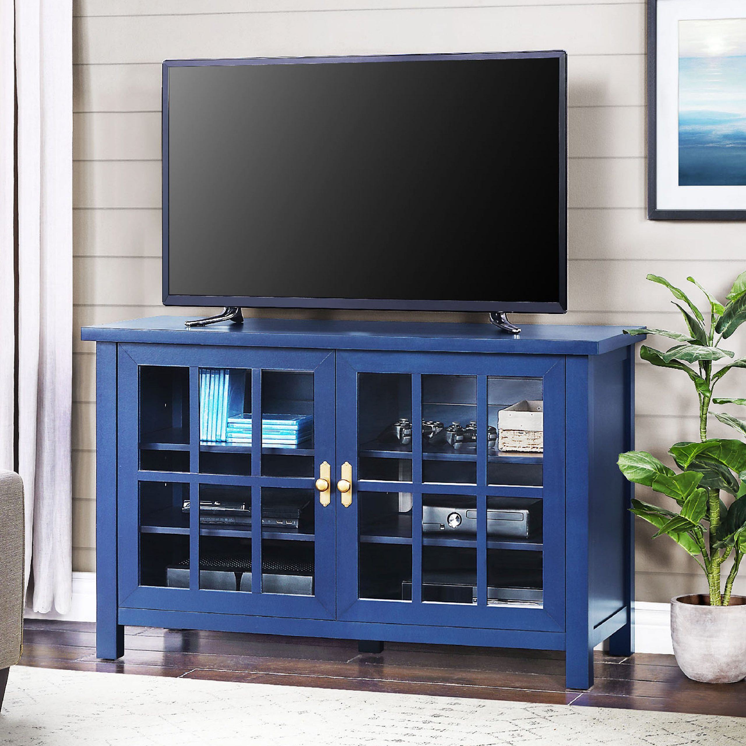 """Better Homes & Gardens Oxford Square Tv Stand For Tvs Up Within Twila Tv Stands For Tvs Up To 55"""" (View 8 of 20)"""
