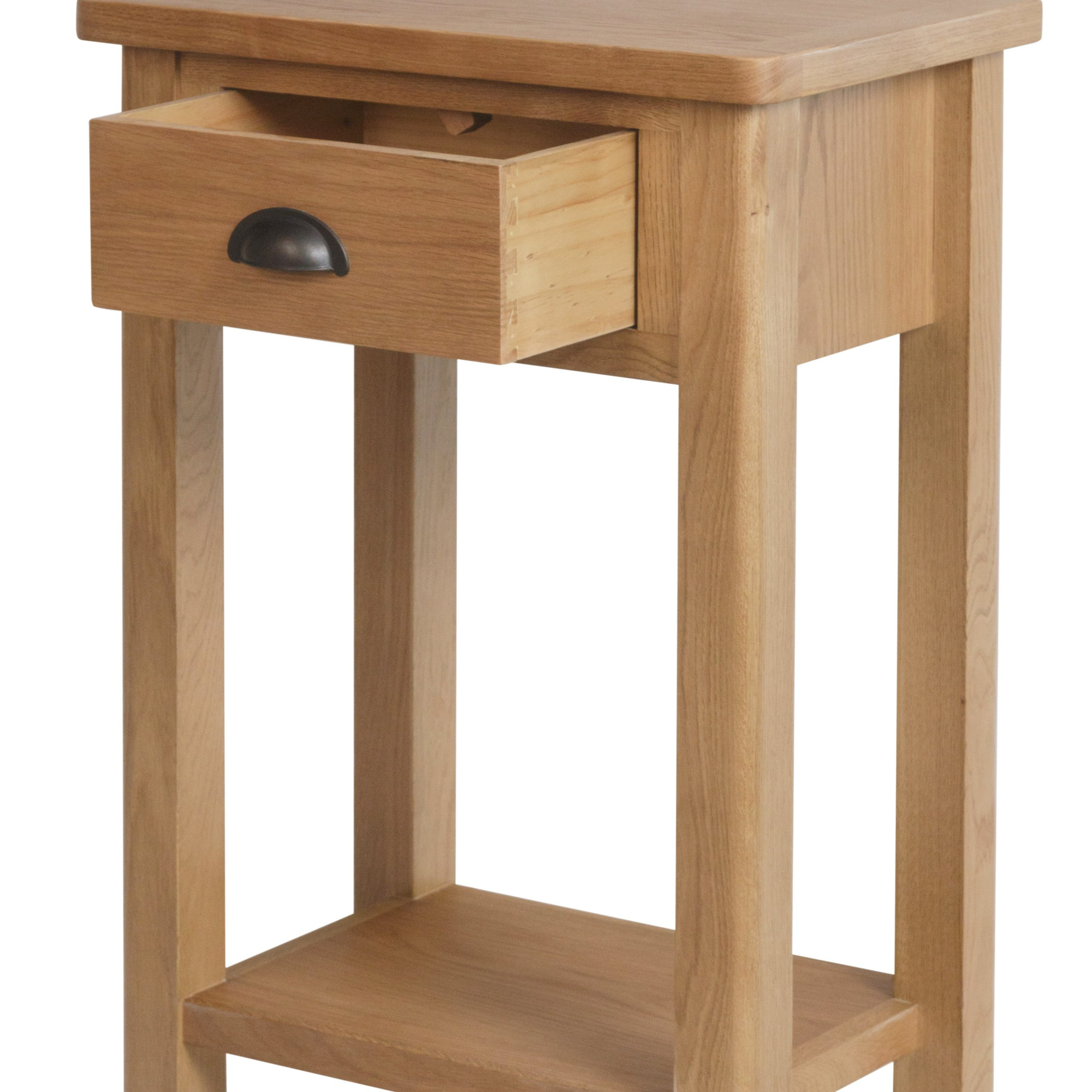 Beverley Oak – Telephone Table Within Sherbourne Oak Corner Tv Stands (View 13 of 20)