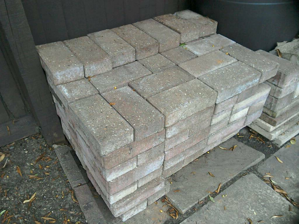Block Paving Bricks Brindle Colour | In Rushden Intended For Compton Ivory Large Tv Stands (View 15 of 20)