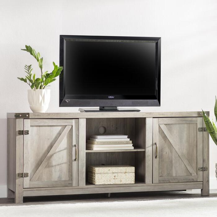 """Borough Wharf Adalberto Tv Stand For Tvs Up To 65 Inside Adalberto Tv Stands For Tvs Up To 78"""" (View 12 of 20)"""