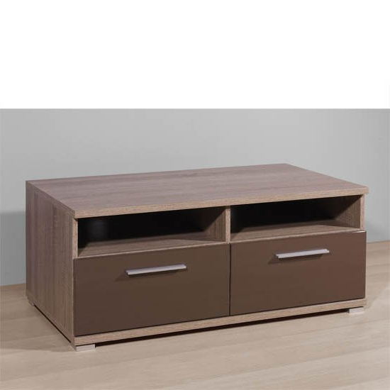 Boston Gloss Brown Plasma Tv Stand, 2214 168 18355 For Boston Tv Stands (View 6 of 20)