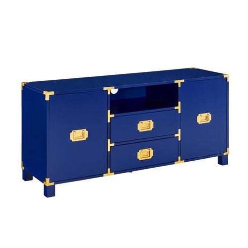Boston Loft Furnishings Chaucer Blue Tv Stand In The Tv In Boston Tv Stands (View 18 of 20)