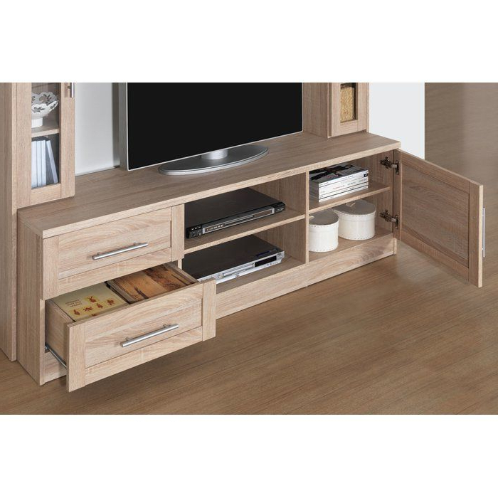 """Bowery Entertainment Center For Tvs Up To 50 Inside Aaliyah Floating Tv Stands For Tvs Up To 50"""" (View 16 of 20)"""