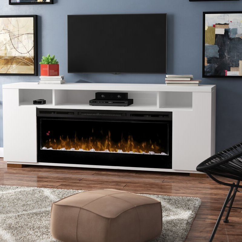 """Brayden Studio Barnett Tv Stand For Tvs Up To 85"""" With In Bustillos Tv Stands For Tvs Up To 85"""" (View 5 of 20)"""