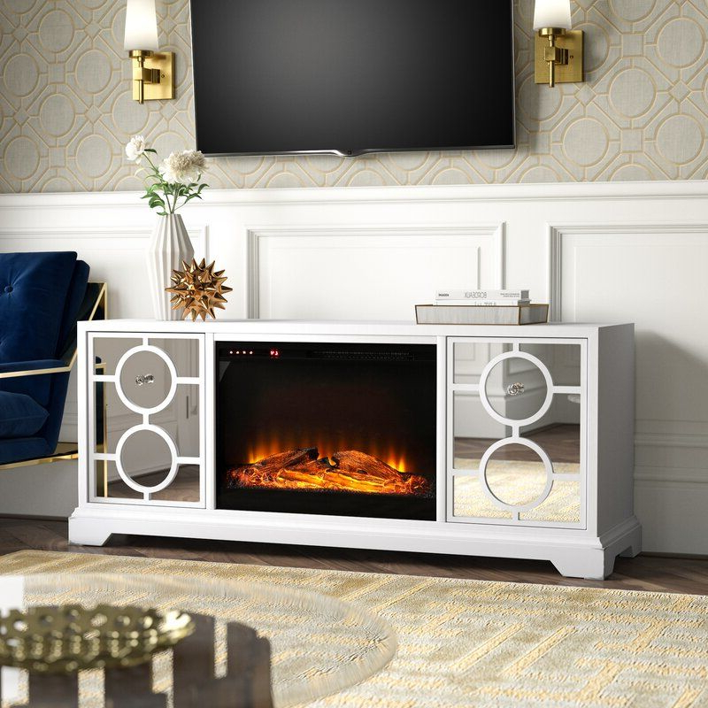 """Brinkley Solid Wood Tv Stand For Tvs Up To 70"""" With Within Chicago Tv Stands For Tvs Up To 70"""" With Fireplace Included (View 14 of 20)"""
