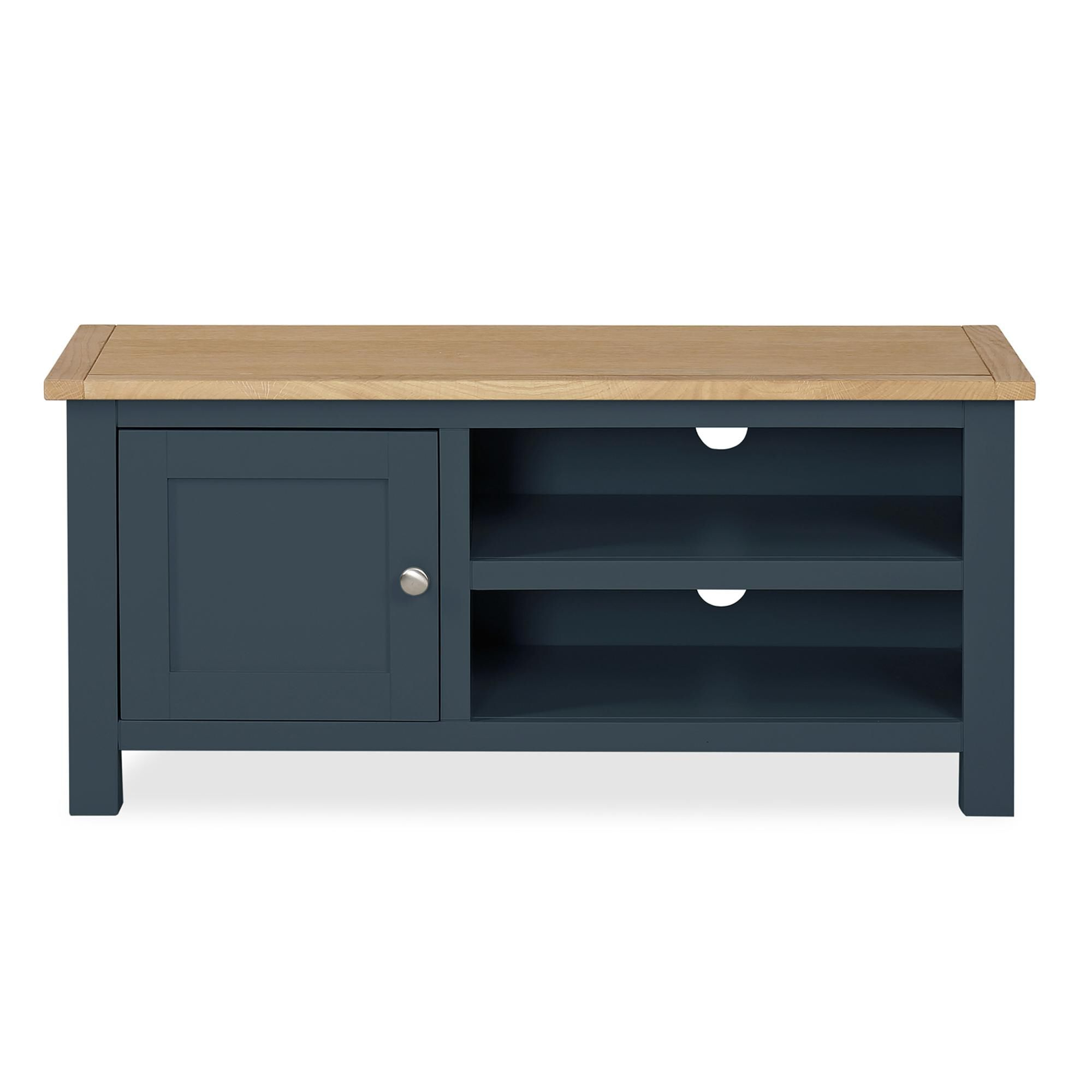 Bromley Blue Tv Stand | Blue Tv Stand, Wooden Tv Stands Throughout Bromley Oak Tv Stands (View 2 of 20)