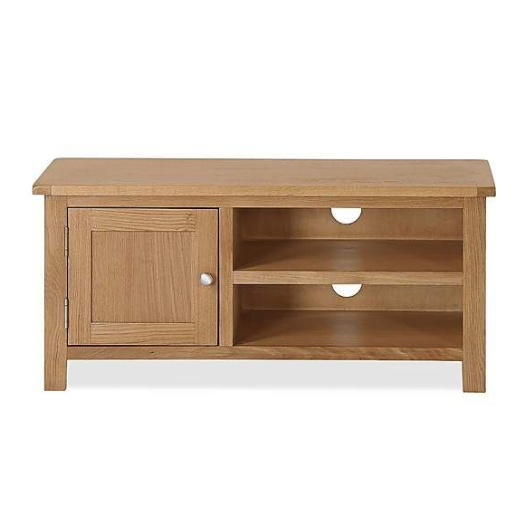 Bromley Tv Unit   Dunelm   Oak Tv Stand, Tv Stand Inside Bromley Grey Corner Tv Stands (View 1 of 20)