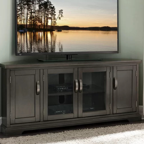 """Bungalow Rose Hafner Tv Stand For Tvs Up To 60"""" & Reviews Within Camden Corner Tv Stands For Tvs Up To 60"""" (View 9 of 20)"""