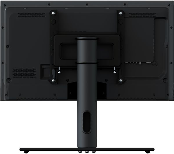 Buy Avf B200bb 450 Mm Tv Stand With Bracket – Black | Free Regarding Claudia Brass Effect Wide Tv Stands (View 18 of 20)