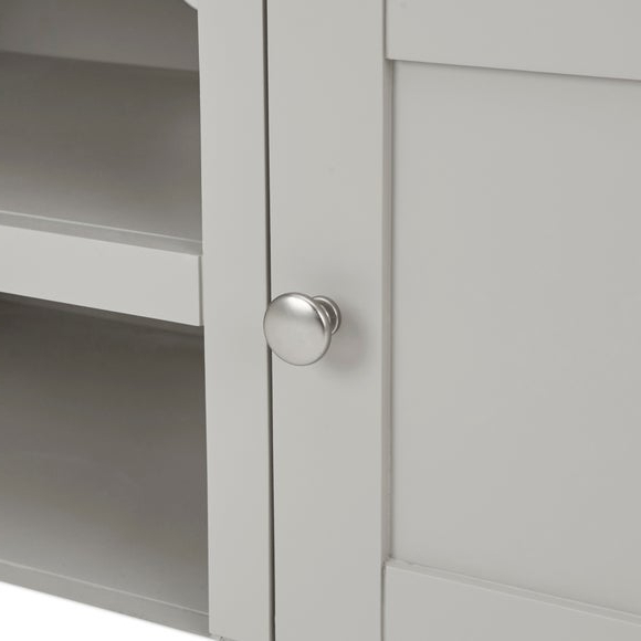 Buy Bromley Grey Wide Tv Stand Grey Online In The Uk | Kasera Within Bromley Oak Tv Stands (View 18 of 20)