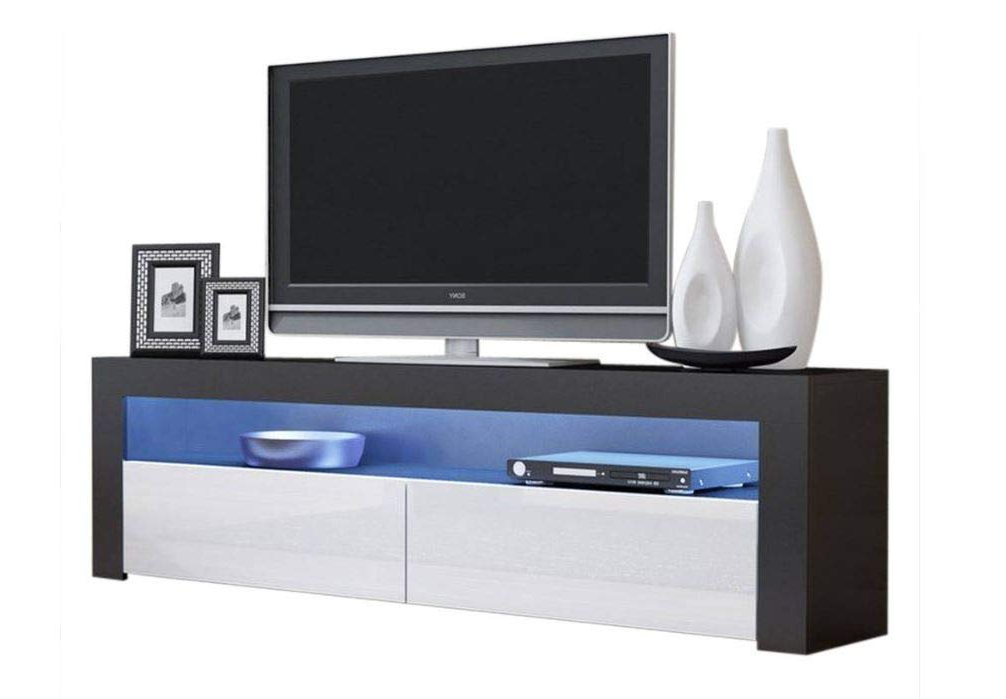 """Buy Domadeco Seattle Wall Mounted Tv Stand/tv For Milano 200 Wall Mounted Floating Led 79"""" Tv Stands (View 12 of 20)"""
