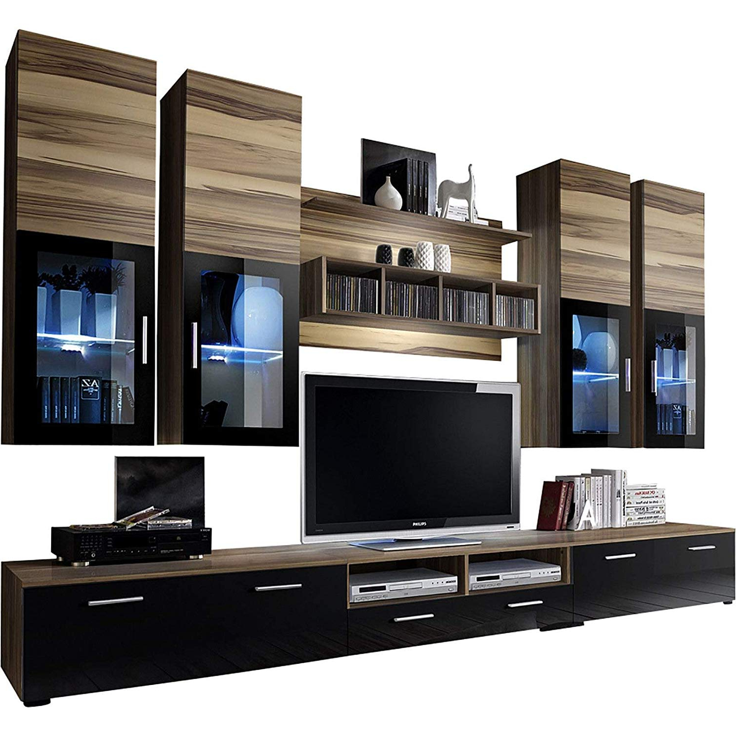 """Buy Domadeco Seattle Wall Mounted Tv Stand/tv Throughout Milano 200 Wall Mounted Floating Led 79"""" Tv Stands (View 14 of 20)"""