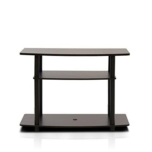 Buy Furinno 13192dbr/bk Turn N Tube No Tools 3 Tier Tv With Regard To Furinno Turn N Tube No Tool 3 Tier Entertainment Tv Stands (View 8 of 20)