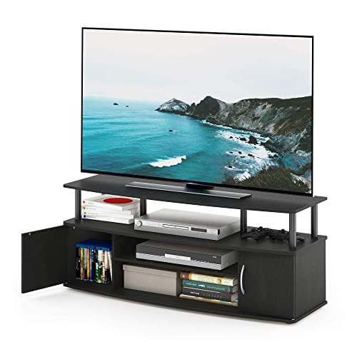 Buy Furinno Jaya Large Entertainment Stand For Tv Up To 50 Pertaining To Furinno Jaya Large Entertainment Center Tv Stands (View 9 of 20)