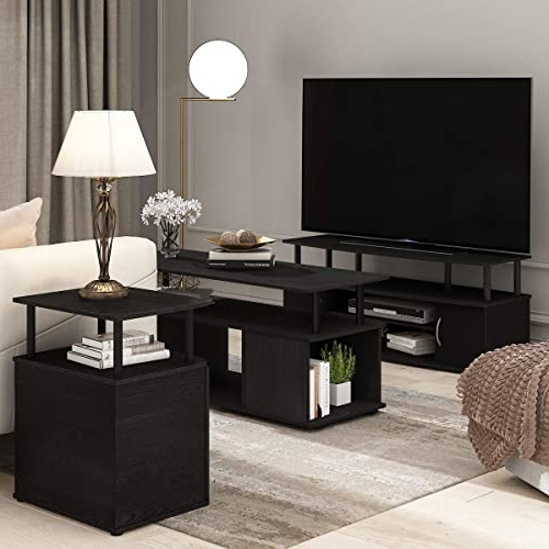 Buy Furinno Jaya Large Entertainment Stand For Tv Up To 50 With Furinno Jaya Large Entertainment Center Tv Stands (View 17 of 20)