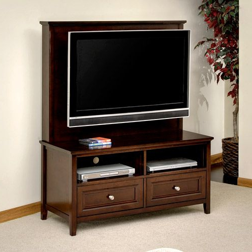 Canopy Cornerstone Flat Panel Tv Stand, For Tvs Up To 40 Throughout Tv Stands With Led Lights In Multiple Finishes (View 18 of 20)