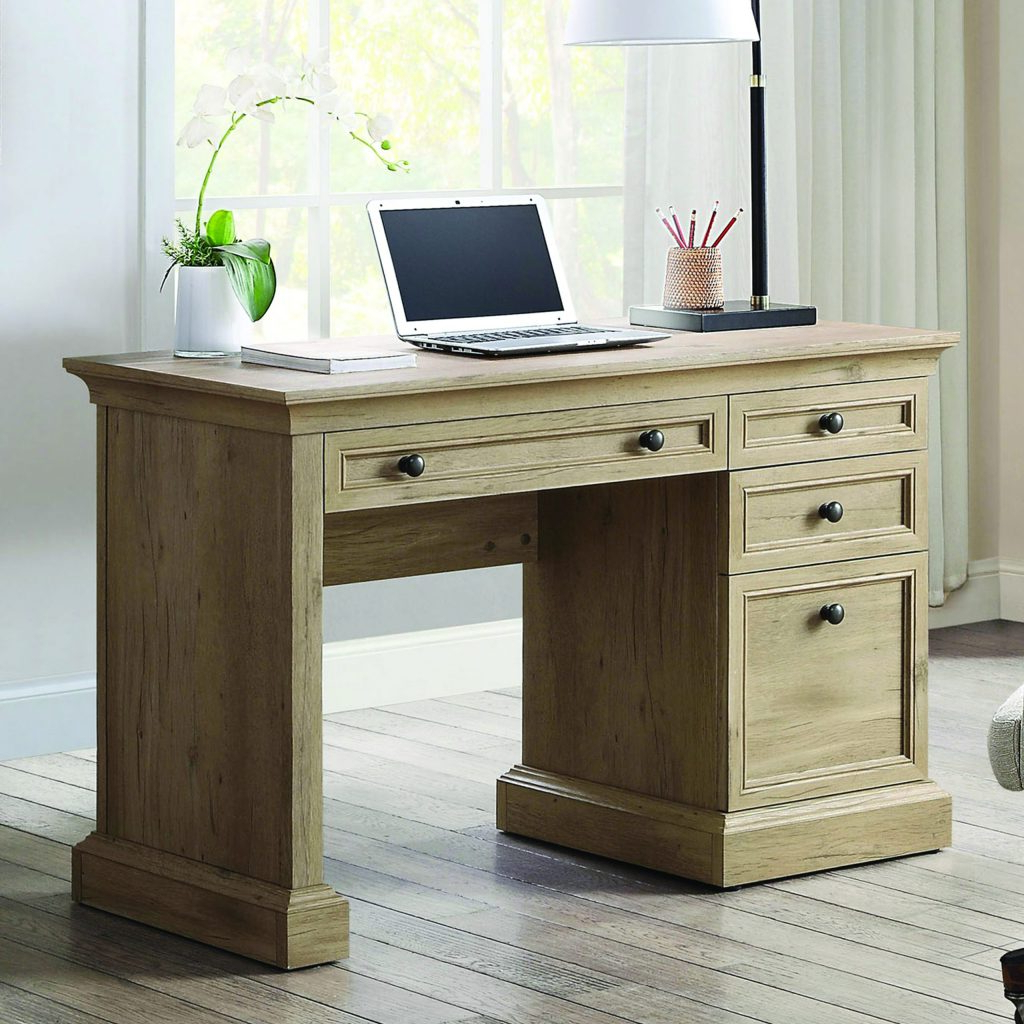 Canton Executive Writing Desk – Whalen Intended For Better Homes & Gardens Herringbone Tv Stands With Multiple Finishes (View 14 of 20)