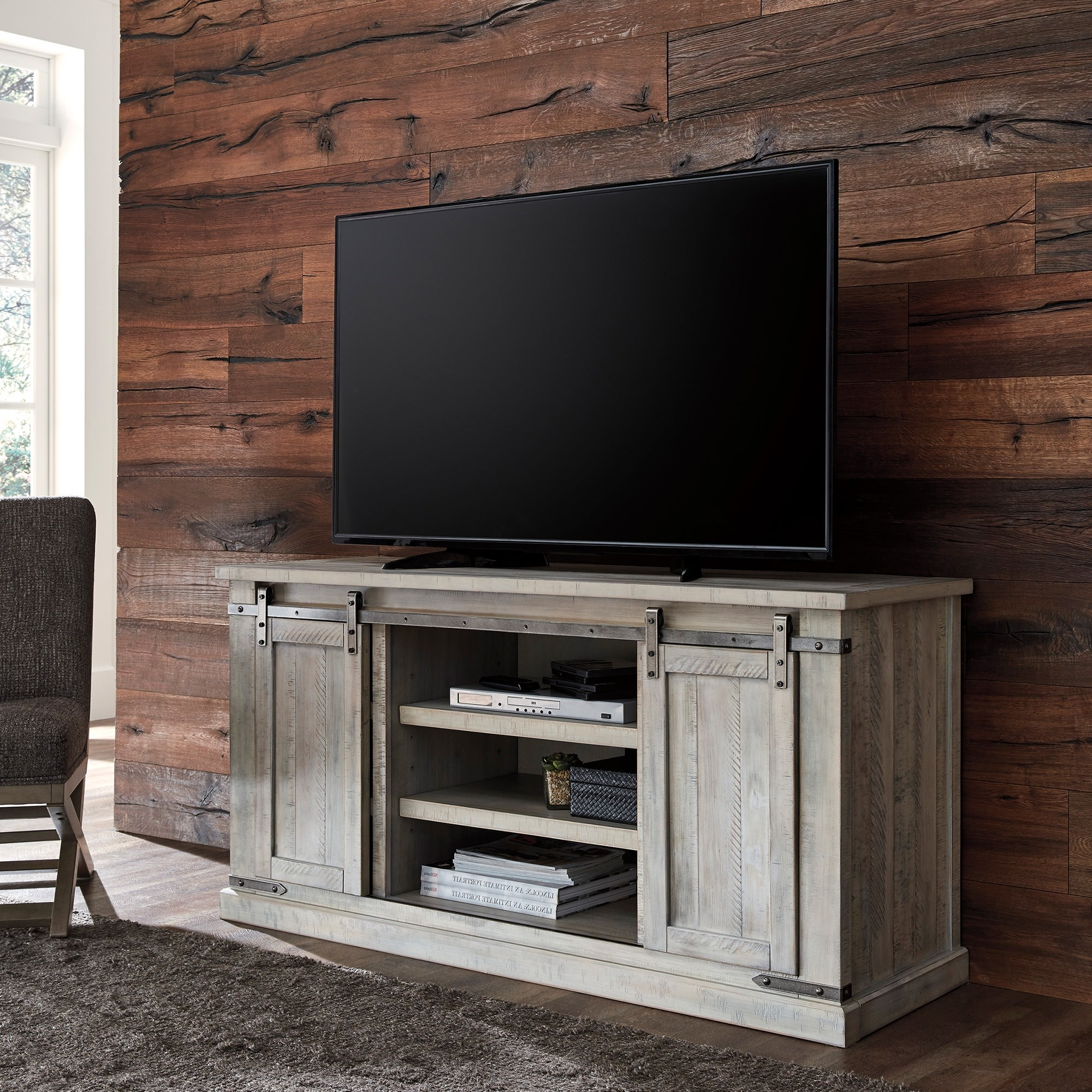 """Carynhurst Large 60 Inch Tv Stand – Bernie & Phyl's In Millen Tv Stands For Tvs Up To 60"""" (View 6 of 20)"""