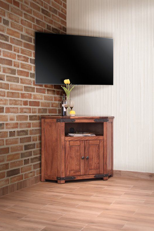 """Cohasset Corner Tv Stand For Tvs Up To 48"""" 