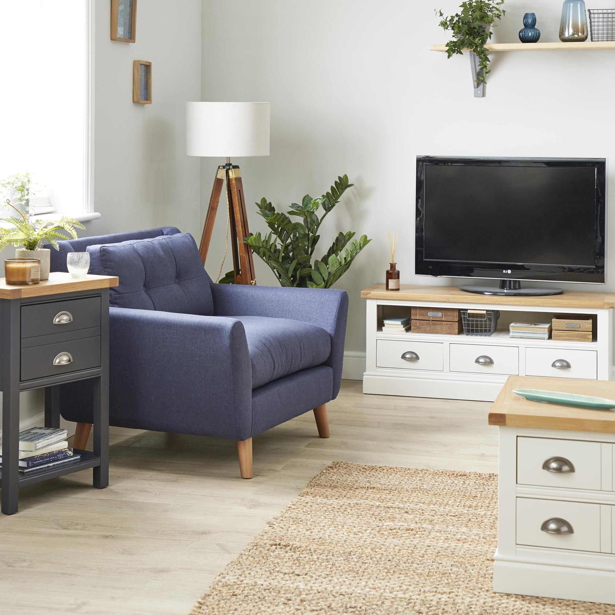 Compton Ivory Corner Tv Stand | Living Room Furniture Pertaining To Compton Ivory Large Tv Stands (View 4 of 20)