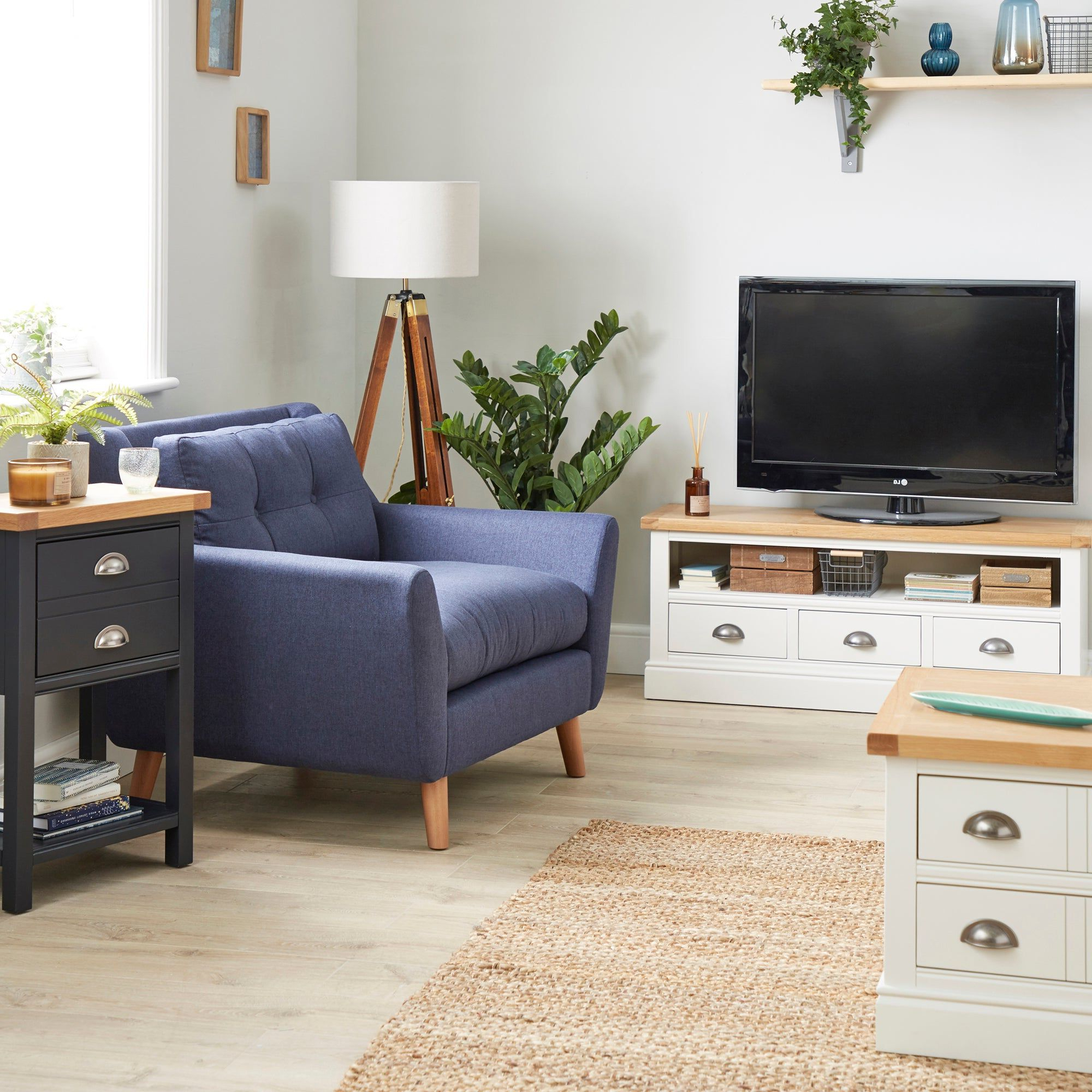 Compton Ivory Hallway Bench | Living Room Furniture, Large Throughout Compton Ivory Large Tv Stands (View 2 of 20)
