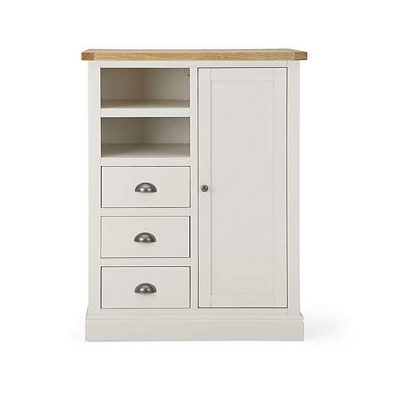 Compton Ivory Mini Wardrobe | Wooden Wardrobe, Wardrobe Pertaining To Compton Ivory Large Tv Stands (View 7 of 20)
