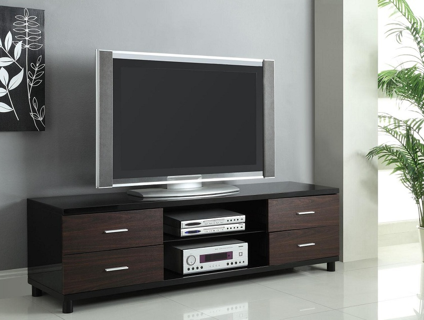 Contemporary Tv Stand Orange County, Contemporary Tv Stand Within Dillon Black Tv Unit Stands (View 9 of 20)