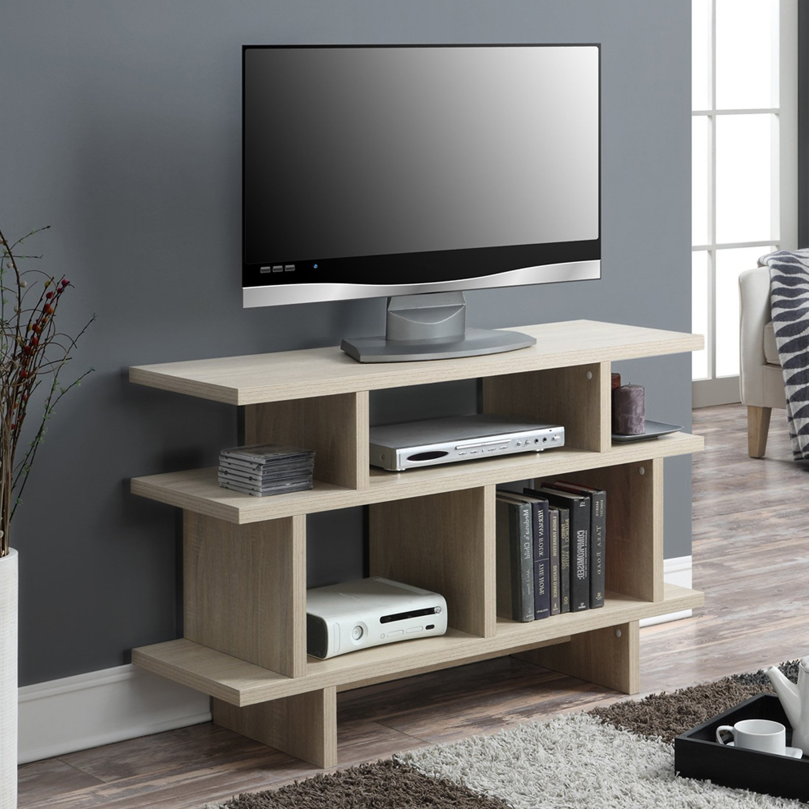 """Convenience Concepts Key West 48"""" Tv Stand Console For Mainstays Tv Stands For Tvs With Multiple Colors (View 7 of 20)"""