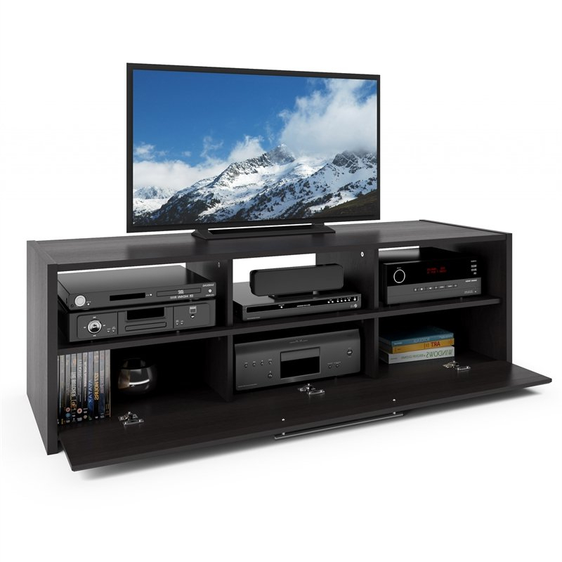 """Corliving Naples Black Tv Stand – For Tvs Up To 65"""" – Tnp Within Totally Tv Stands For Tvs Up To 65"""" (View 18 of 20)"""