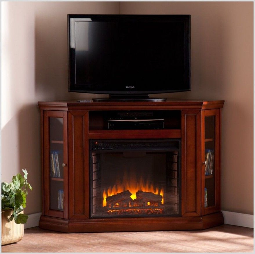 """Corner Tv Stand For 65 Inch With Fireplace   Ourcornerstudio Pertaining To Vasari Corner Flat Panel Tv Stands For Tvs Up To 48"""" Black (View 4 of 20)"""